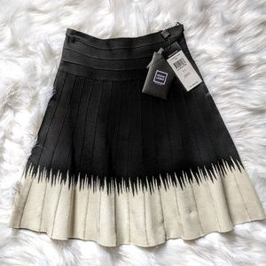 $1390 Herve Leger Bandage Skater Skirt NWT